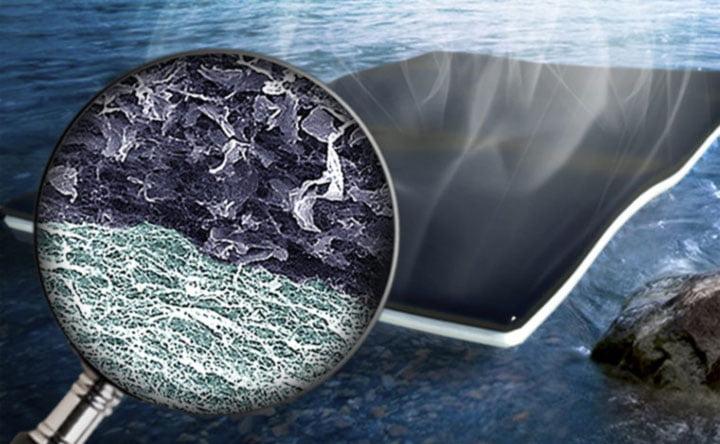 Filtri in grafene per depurare l'acqua e renderla potabile
