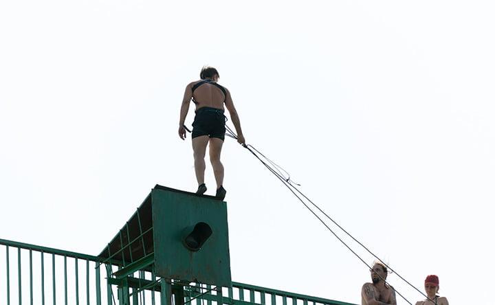 Ecco cosa succede nel cervello prima di un salto in bungee jumping