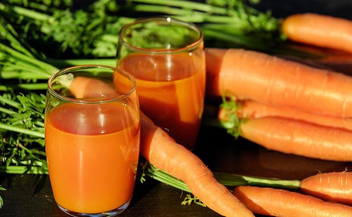 Succo di carota: i benefici per la salute