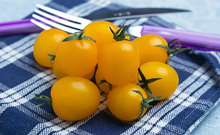 Pomodori gialli: proprietà e valori nutrizionali