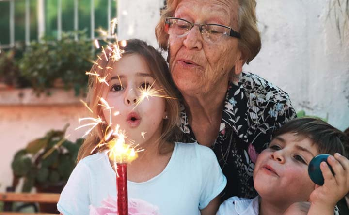 Nonne più presenti e vicine per una vita più lunga e felice