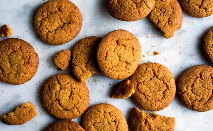 Biscotti allo zenzero: aiutare la digestione con dolcezza